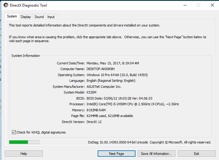 Directx 12 offline installer download for windows 7, 8, 10