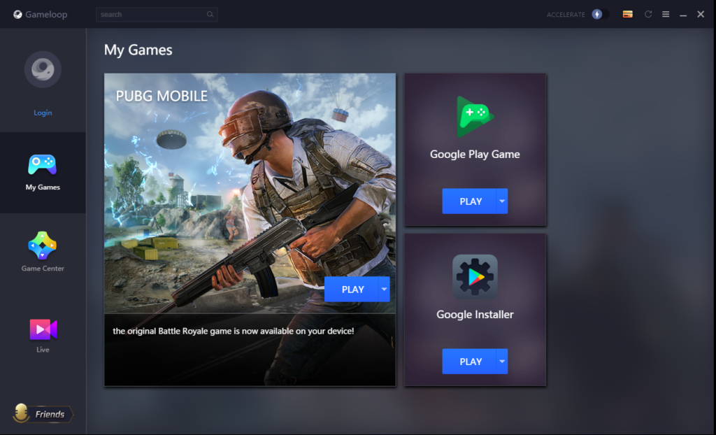 download gameloop android emulator latest 2021
