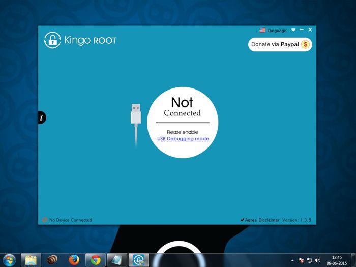 kingoroot for pc logo